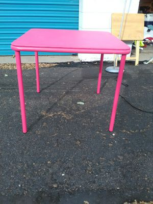 Kids Foldable table & chair for Sale in Colorado Springs, CO
