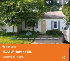 Spacious 3 Beds 2 Bath Home W/ Garage 1,509 sqft 1522 W Holmes Rd, Lansing, MI 48910 for Sale in East Lansing, MI