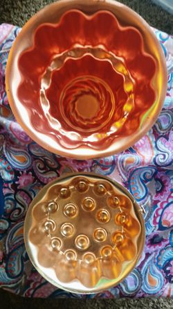 Copper jelly molds for Sale in Bellingham,  WA