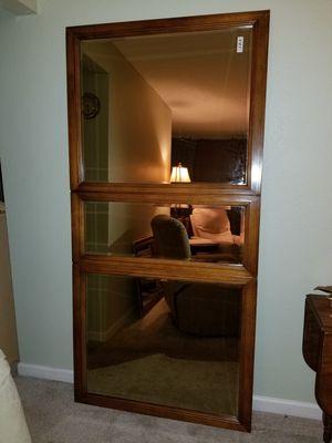 Mirror dark wood for Sale in Lakewood, CO