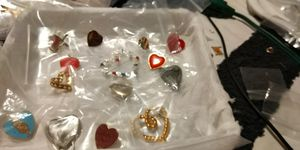 HEART BUNDLE of mixed BROACHES for Sale in Fort Worth, TX