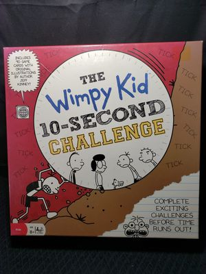 The wimpy kid 10 second challenge game ages 8+ for Sale in Zanesville, OH