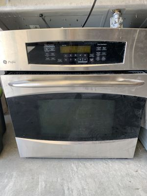 GE profile glass stove top, oven and microwave set for Sale in Corona, CA