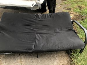 Black metal futon for Sale in Old Hickory, TN