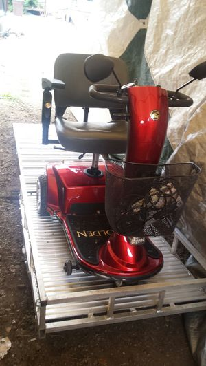 Electric handicap scooter & RV, truck, car, rear bumper attachment holder ramp for Sale in Tacoma, WA