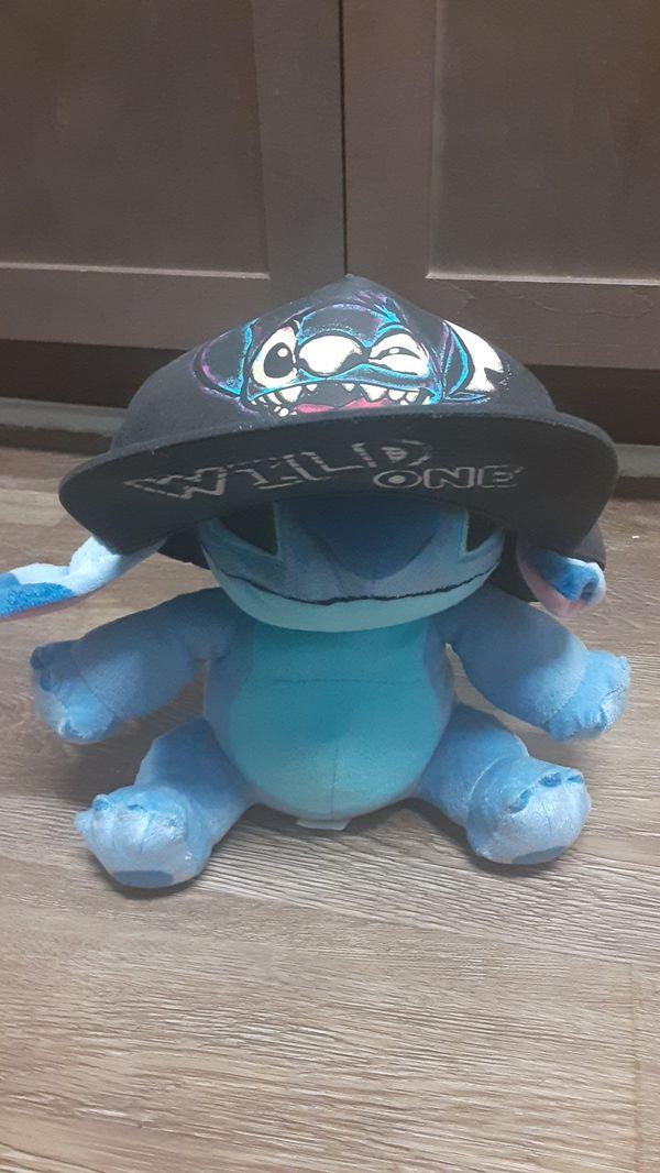 Stitch Plushie and Matching Wild One Hat