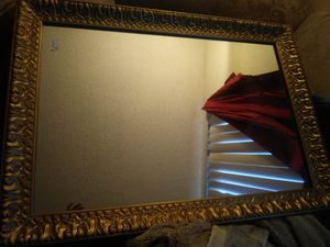 Large and Heavy wall mirror, 3ft by 2 ft for Sale in Tulsa, OK