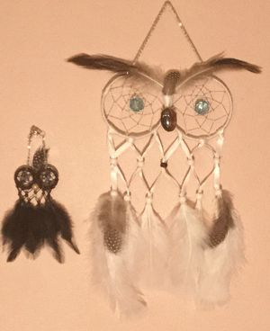 Handmade Mama and Baby Owl dreamcatchers for Sale in Wichita, KS