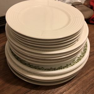 Kitchen plates (glass) for Sale in Riverside, CA