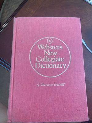 Webster's New Collegiate Dictionary for Sale in Irving, TX