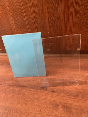 Acrylic slantback sign holders lot of 12 for Sale in Santa Ana, CA