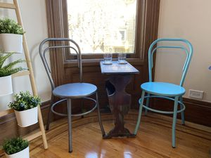 2 Pottery Barn Indoor/Outdoor Cafe Chairs for Sale in San Francisco, CA