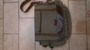 Sovrano messenger Army green canvas bag for Sale in Moreno Valley, CA