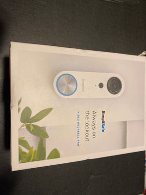 Simplisafe video doorbell pro for Sale in Brentwood, CA