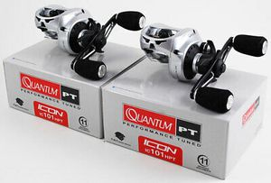 2 new 11 ball bearings Quantum PT Icon IC101 HPT 7.0:1 left hand baitcaster baitcast fishing reel for Sale in Litchfield Park, AZ
