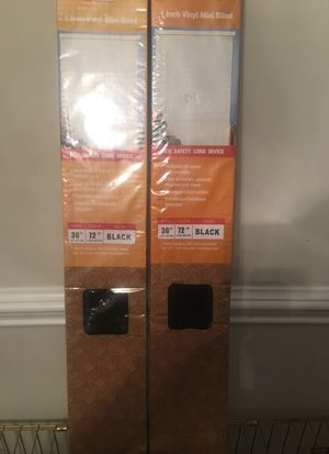 Vinyl mini blinds for Sale in Greensboro, NC