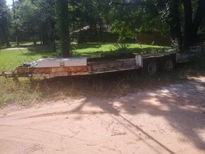 21 foot Steel Car Hauler Trailer with ramps for Sale in Kennedale, TX