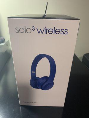 Beats solo3 wireless (like new) for Sale in Burlington, NJ