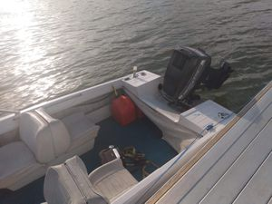 Chrysler 300 boat with a 50 horsepower motor for Sale in Peoria, IL