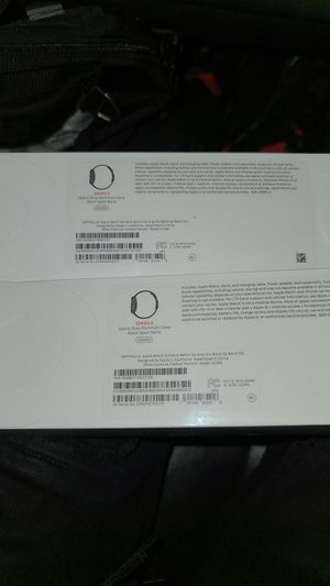 Two apple watch series 6 44m lte sealed for Sale in Detroit, MI