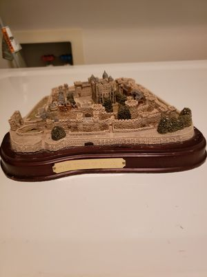 "Exceptional Cast Resin Castle Scene ""The Tower of London"" Handmade in Scotland. for Sale in Kent, WA"