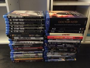 4K + Blu-ray movie & tv show lot for Sale in Bloomington, CA