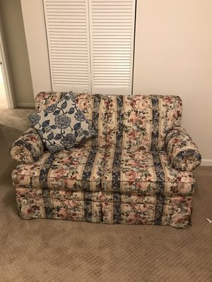 Floral couch for Sale in Arlington, VA