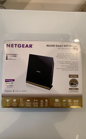 Netgear R6300 Smart Gigabit WiFi Router with USB for home server drive for Sale in Annandale, VA