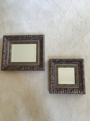 Beveled framed mirror decor for Sale in Long Grove, IL