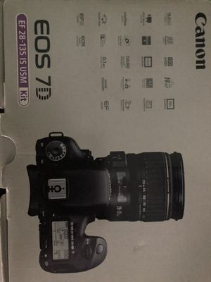 Canon eos 7d for Sale in Elmwood Park, IL