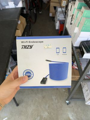 THZY WiFi Endoscope Borescope Inspection Camera 8mm diameter camera Brand new for Sale in Rowland Heights, CA