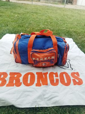Denver Broncos duffle bag for Sale in Denver, CO