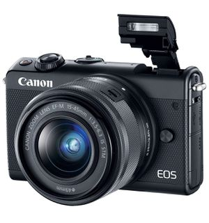 Canon EOS M100 Mirrorless Camera w/ 15-45mm Lens for Sale in Coral Gables, FL