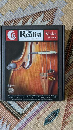 Violin pickup. Acoustic transducer for Sale in Portland,  OR