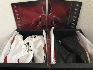 """Jordan XVI & VII CDP Pack """"Size 13"""" 16 7 for Sale in San Francisco, CA"""