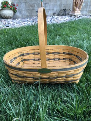Longaberger big basket 1998 for Sale in Hemet, CA