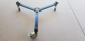 Perfect Condition Manfrotto 114MV Cine Video Dolly for Tripods with Twin Spiked Feet for Sale in El Cajon, CA