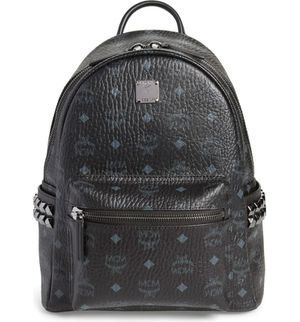 NWT BLACK WITH BLUE LETTERING MCM BACKPACK for Sale in New York, NY