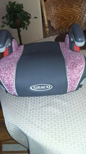 Graco padded booster car seat for Sale in Dallas, TX