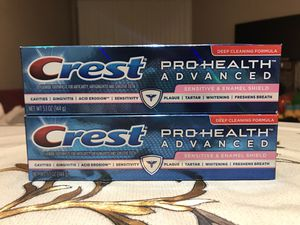 Crest Toothpaste 5.1 oz for Sale in Lynnwood, WA