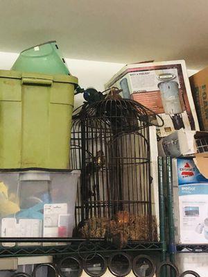 Bird cage decor! for Sale in Richmond, TX