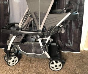 LX DOUBLE STROLLER for Sale in Fresno,  CA