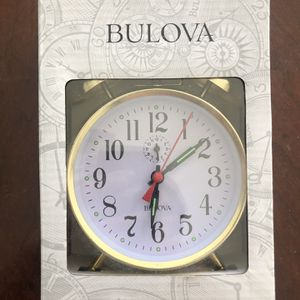 BULOVA BRASS ALARM CLOCK for Sale in Santa Clarita, CA