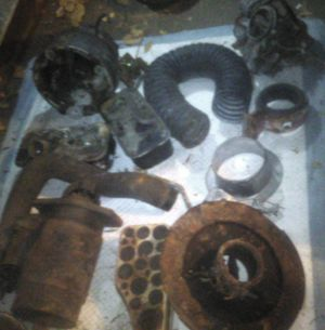 """Old Auto Parts from 50's to 70"""" s Many different Cars $50 or Best Offer. for Sale in San Diego, CA"""