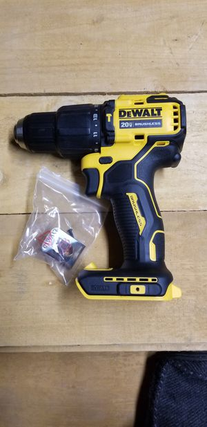 """1/2"""" brushless hammer drill. Atomic compact series NEW! for Sale in Patterson, CA"""