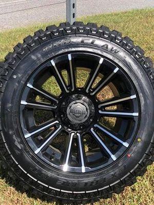 "20"" wheels and tires Dodge Ram Jeep Wrangler for Sale in Alpharetta, GA"