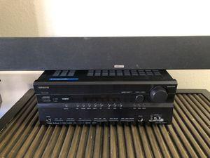 Onkyo receiver with Polk Audio soundbar for Sale in Phoenix, AZ