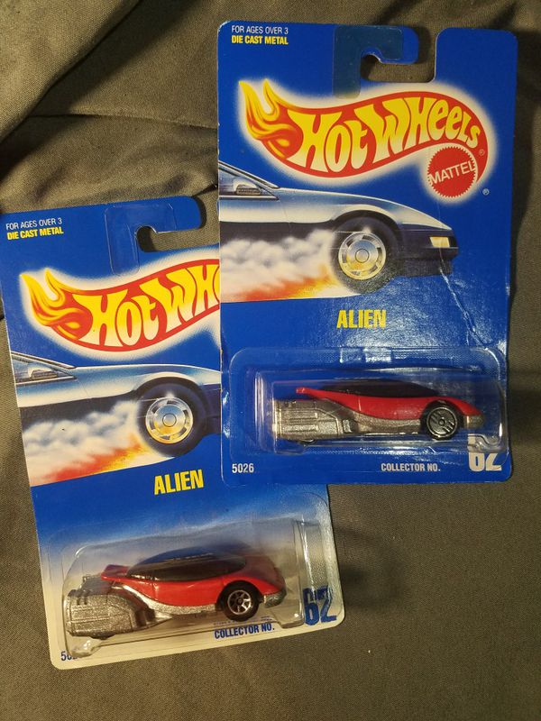 Hot Wheels Alien #62