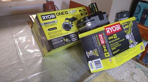 18v RYOBI ONE+HP BRUSHLESS CUT OFF TOOL 18vPALM ROUTERand 18v battery for Sale in Sacramento, CA