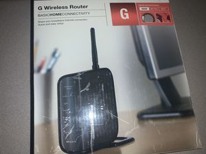 G Wireless Router Basic Home Connectivity for Sale in Las Vegas, NV